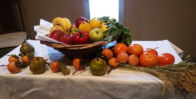 礼拝案内 11月24日(収穫感謝讃美礼拝)